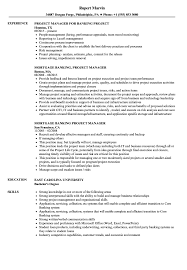 Download Project Manager Banking Resume Sample As Image File