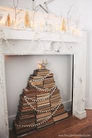 Christmas Tree Books Diy by Best 25 Book Christmas Tree Ideas On Pinterest Book Tree Paper