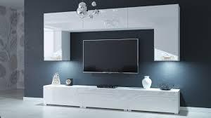modernes wohnzimmer wohnwand wohnschrank schrankwand möbel s54 mit füßen