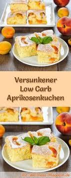 rezept für kohlenhydratarme aprikosenkuchen der
