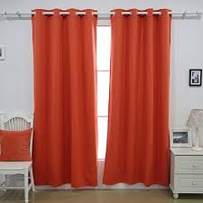 Blackout Curtain Liner Amazon by Deconovo Heavy Duty Thermal Insulated Grommet Winter Blackout