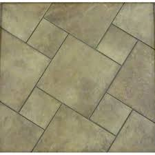 style selections 6 x 6 mesa rust glazed porcelain wall tile item