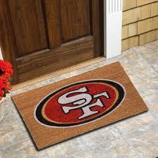 San Francisco 49ers Logo Coir Door Mat