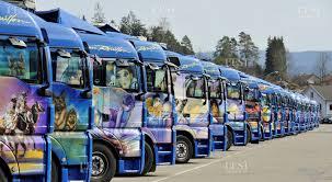 siege de transport le mag dans les vosges paskal kersiak customise les camions de la