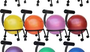 Stability Ball Desk Chair by Truth Vs Myth Is Using An Exercise Ball To Replace Your Office