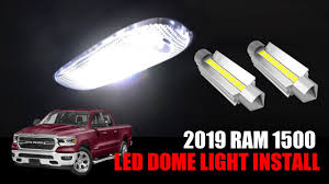 100 Interior Truck Lighting 2019 2020 Ram 1500 Bighorn Is It Simple To Change Interior Dome Light To LED Bulbs