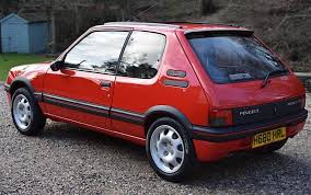 Peugeot 205 GTI 1 9 sells for £25k at auction