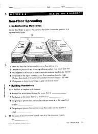 Where Does Seafloor Spreading Take Place by Paul U0027s Post December 2013