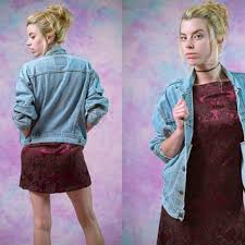 Vtg Levis Light Wash Denim Jacket Womens Outerwear Vintage 70s 80s 90s Tumblr Am