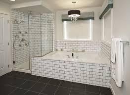 brown subway tile bathroom with shower tiles amazing grey and nurani