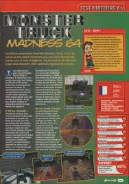 Nintendo64EVER - Tests Of Nintendo 64 Games Scanned Into Magazines Monster Truck Madness 64 Juego Portable Para Pc Youtube Monster Truck Madness Details Launchbox Games Database Hot Wheels Jam 164 Assorted The Warehouse Boogey Van Trucks Wiki Fandom Powered By Wikia Manual Nintendo N64 Old School Gba Detective Comics 1937 1st Series 737 Comic Book Graded Cgc For 1999 Mobyrank Mobygames Retro City Posts Facebook Amazoncom Iron Outlaw Toys Game Fully Boxed Pal Images 2 Mod Db