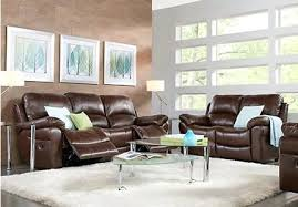 appealing living room sets leather brown leather 3 living room