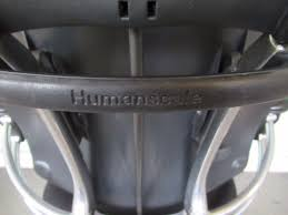 Used Humanscale Freedom Chair by Freedom Hi Back Office Chair With Black Headrest With Fabric U0026 Chrome