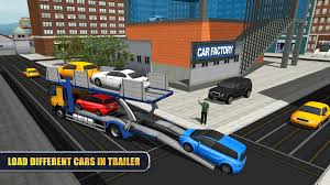 100 Towing Truck Games City Car Transporter Trailer Sim Android In