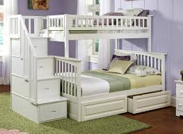 Amazon Columbia Staircase Bunk Bed with 2 Raised Panel Bed