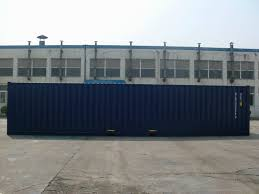 100 Shipping Containers 40 FT NEW BUILD ISO SHIPPING CONTAINERS 2015 RAL 5013 DARK BLUE DOUBLE ENDERS