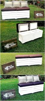 Gallery Of Wood Pallet Design Lawn Furniture Garden Sofa Deck Backyard Bench Ideas