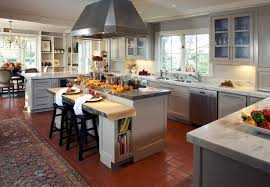 View In Gallery Open Plan Kitchen Decorated For Fall