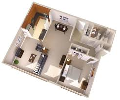 100 Small One Bedroom Apartments 1 Bedroom Apartmenthouse Plans Topaz House One Bedroom