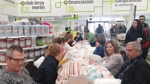 Taller Leroy Merlin Huelva Aprendimos a confeccionar un cojn sin