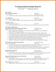 Sample Resume Objective Of A Teacher Feat For