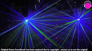 American DJ Headquarters Light Show Demo