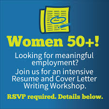 SF ReServe Women 50 Resume And Cover Letter Writing Workshop