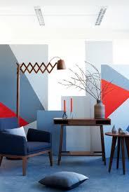 wandgestaltung mit farbe 30 nuancen blau wohnzimmer