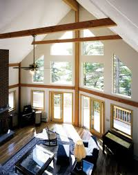 Insulating Cathedral Ceilings With Spray Foam by Habitat Post U0026 Beam