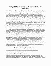 9 Graduate School Statement Of Purpose Template Letter Intent Grad