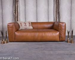 canapé cuir fauve canap cuir vieilli marron awesome canap cuir vieilli boston