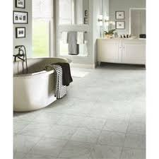 shop stainmaster 18 in x 18 in groutable pistachio beige peel and