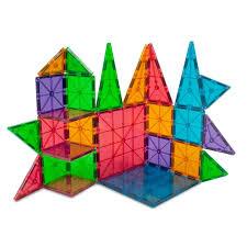 amazon com magna tiles clear colors 100 piece set industrial