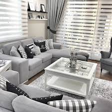 Black and Grey Living Room – Living Room Decorating Design