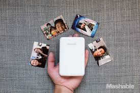 Polaroid Zip Instant printer prints stickers from your phone