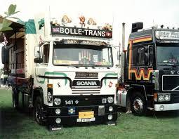 Scania 141 V8 Dutch Bolle Trans Flower Truck
