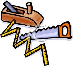 Woodworking Tools Clipart 1