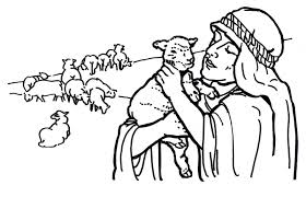 Good Shepherd And Lost Sheep Parable Coloring Pages Best Of