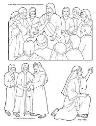 Amazing Design Ideas Jesus Disciples Coloring Page 12 Apostles Download