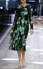 long sleeve sequin dress by dolce u0026 gabbana moda operandi