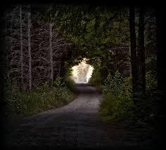 as a hallway the flashbulb