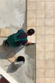 tile lay tile on concrete home design furniture decorating top