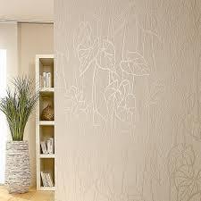my look vliestapete beige floral 10 05 x 0 53 m haus