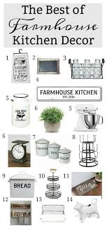 The Best Of Farmhouse Kitchen Decor