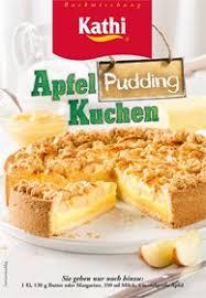 kathi backmischung apfel pudding kuchen 520g de