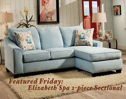 featured friday elizabeth spa two piece sectional sofa american