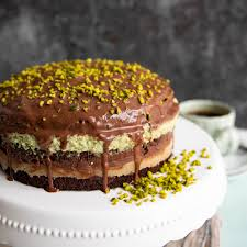 low carb keto schoko marzipan torte torten kuchen
