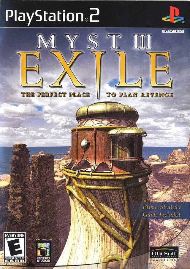 Myst III Exile - PlayStation 2