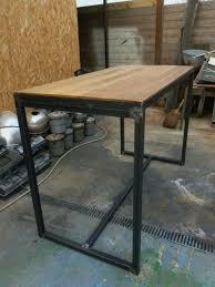 fabriquer table haute cuisine fabriquer une table bar de cuisine fabriquer sa table de cuisine 3