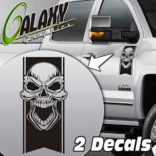Tribal Skull Truck Door Decal Stickers- Ram F150 Silverado Tundra | EBay The 2nd Half Price Firefighter Skull Car Sticker 1915cm Car Styling 2 Metal Mulisha Girl Skulls Bow Vinyl Decals 22 X Window Truck Army Star Military Bed Stripe Pair Skumonkey 2019 X13cm Punisher Auto Sticker Pentagram Cg3279 Harleydavidson Classic Graphix Willie G Decal Pistons Hood Matte Black Ram F150 Pin By Aliwishus On Skulls Flags Pinterest Stickers And Decalset Hd Skull American Flag Backround Cg25055 Die Cutz High Quality White Deer Rack Wall Etsy Unique For Trucks Northstarpilatescom Buy Shade Tribal Graphics Van